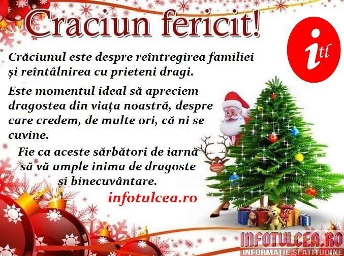 Photo of Crăciun fericit, dragi tulceni!